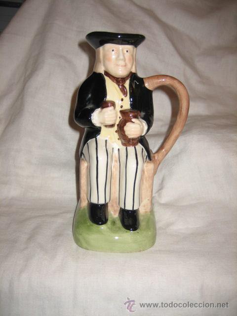 JARRA CHIVAS REGAL TONY WOOD STAFFORDSHIRE (Antigüedades - Porcelanas y Cerámicas - Inglesa, Bristol y Otros)