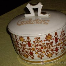 Antigüedades: GALLETERO. Lote 27225037