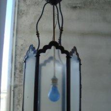 Antiquitäten - FAROL ANTIGUO RESTAURADO Y ELECTRIFICADO - 27443988