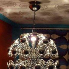 Antigüedades: LAMPARA TECHO SPUTINK PLANETAS CROMO ORIGINAL DE LOS 60-65¡¡¡¡¡¡¡¡¡¡¡¡¡REBAJADA!!!!!!. Lote 10897149