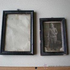 Antigüedades: 2 PEQUEÑOS MARCOS ANTIGUOS. Lote 18301810