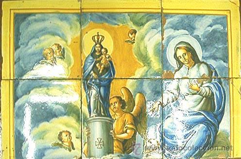 azulejos virgen del pilar xix comprar azulejos antiguos