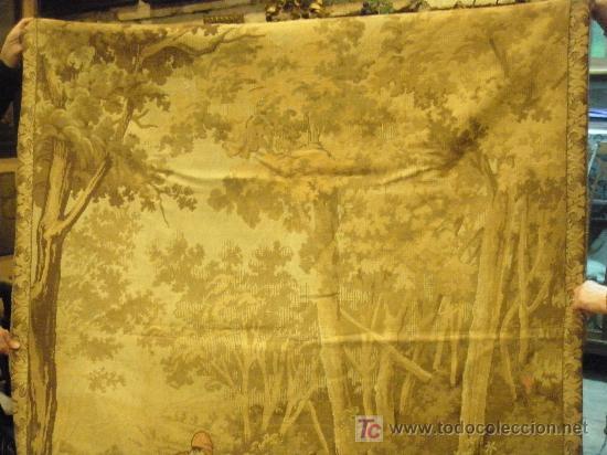 Antigüedades: TAPIZ TEJIDO A MAQUINA DE 1,5x3,4 m. DE PRINCIPIOS DEL XX - Foto 13 - 26999727