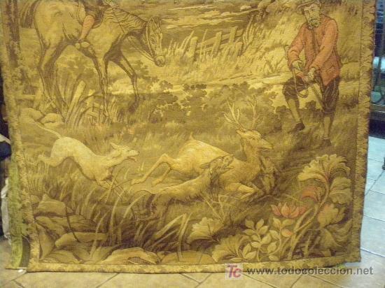 Antigüedades: TAPIZ TEJIDO A MAQUINA DE 1,5x3,4 m. DE PRINCIPIOS DEL XX - Foto 12 - 26999727