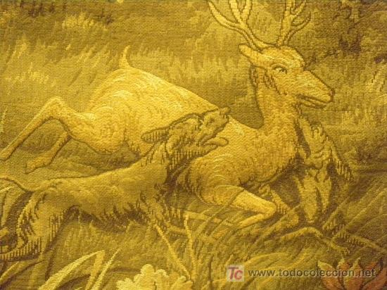 Antigüedades: TAPIZ TEJIDO A MAQUINA DE 1,5x3,4 m. DE PRINCIPIOS DEL XX - Foto 7 - 26999727