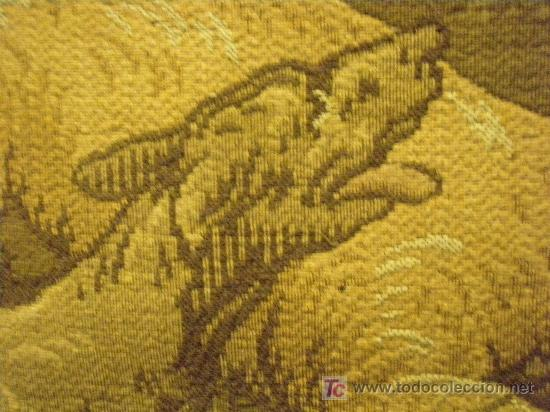 Antigüedades: TAPIZ TEJIDO A MAQUINA DE 1,5x3,4 m. DE PRINCIPIOS DEL XX - Foto 5 - 26999727
