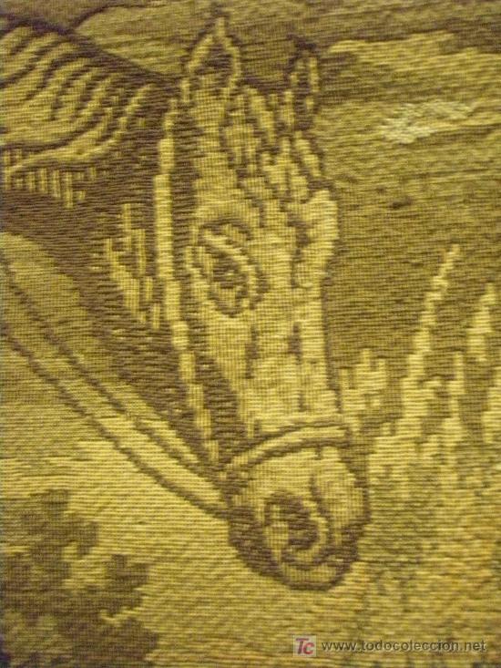 Antigüedades: TAPIZ TEJIDO A MAQUINA DE 1,5x3,4 m. DE PRINCIPIOS DEL XX - Foto 15 - 26999727
