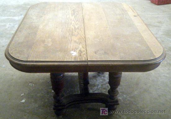 mesa de comedor roble macizo alfonsina. - Comprar Mesas Antiguas en ...