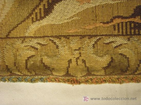 Antigüedades: TAPIZ TEJIDO A MAQUINA DE 1,5x3,4 m. DE PRINCIPIOS DEL XX - Foto 2 - 26999727