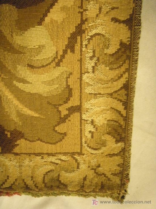 Antigüedades: TAPIZ TEJIDO A MAQUINA DE 1,5x3,4 m. DE PRINCIPIOS DEL XX - Foto 4 - 26999727