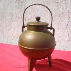 Antigüedades: PEQUEÑA OLLA DE COBRE. Lote 18387421