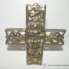 Antigüedades: ANTIGUA CRUZ DE BRONCE. Lote 26312188