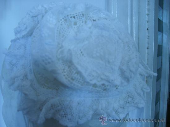 GORRITO INFANTIL -FINAL DE 1800- (Antigüedades - Moda - Bordados)