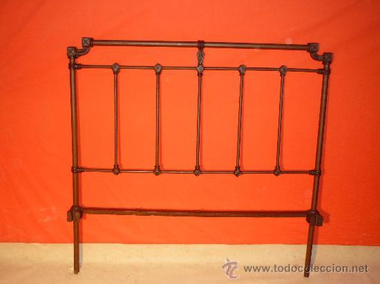 Cabecero de cama en hierro fundido comprar camas antiguas en todocoleccion 18443014 - Camas de hierro antiguas ...