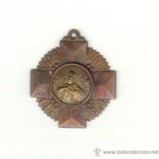 Antigüedades: CRUZ A CLASIFICAR MIDE 3 POR 3 CENTIMETROS.. Lote 23847707