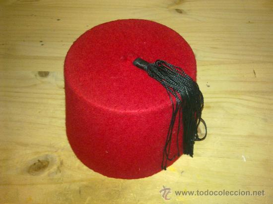 comprar lo mejor zapatillas de skate la mejor moda autentico sombrero de fez. marruecos. talla 57. - Comprar ...