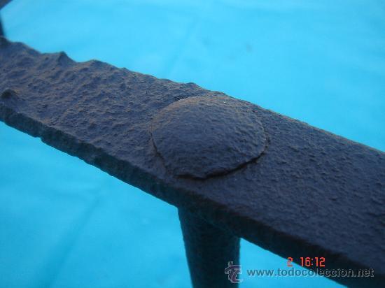 Antigüedades: DETALLE DEL TRABAJO DE FORJA - Foto 9 - 27300457