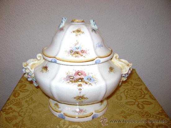 SOPERA DE ANTONIO PEYRO (Antigüedades - Porcelanas y Cerámicas - Otras)