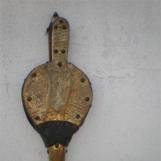 Antigüedades: FUELLE DE MADERA Y METAL. Lote 18666529
