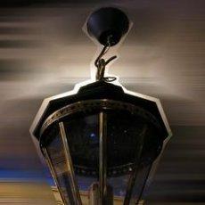 Antigüedades: LAMPARA FAROL. Lote 27567706