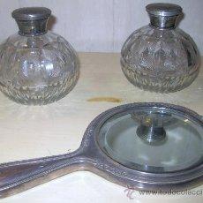 Antigüedades: JUEGO DE TOCADOR. Lote 25868958