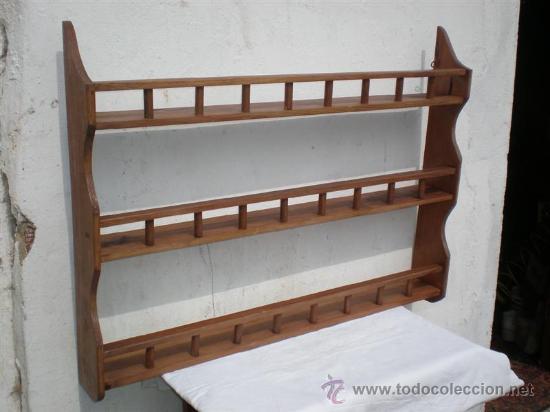 Estanteria de madera y de cocina comprar repisas - Estanterias pequenas de madera ...