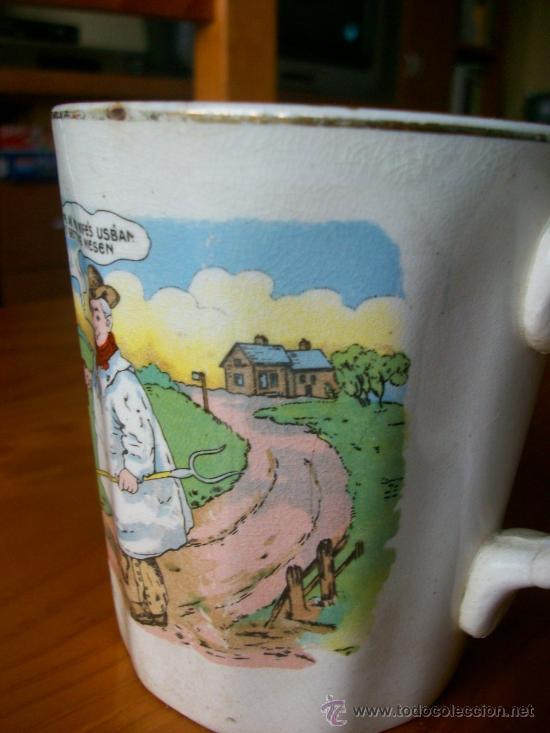 Antigüedades: LIQUIDACION.Yorkshire TYKES.PIEZA RARA PARA COLECCION. JARRA CERVEZA. UNA BELLEZA. FINALES SIGLO XIX - Foto 4 - 27460205