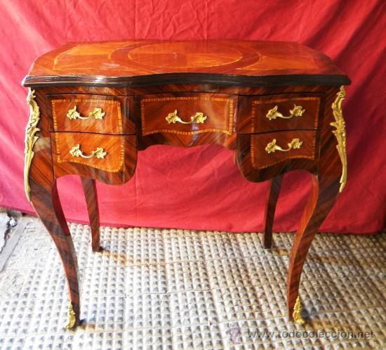 Exquisito escritorio mediano estilo frances mad comprar for Muebles estilo frances online