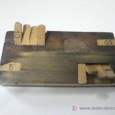 Antigüedades: CONTADOR DE PUNTOS. Lote 18872778