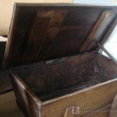 Antigüedades: ARTESA ANTIGUA GALLEGA CON CAJON. Lote 58301237