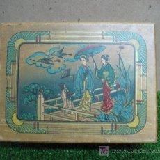 Antigüedades: ANTIGUA CAJA DE MADERA JAPONESA. Lote 19015526