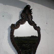 Antiguidades: ESPEJO EN MADERA DE NOGAL. Lote 19044476