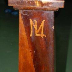 Antigüedades: MUEBLE PARA TIESTO. 74CM DE ALTURA. BASE SUPERIOR 30X30CM. AÑOS 30.. Lote 24106193