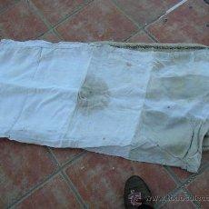 Antigüedades: ANTIGUO COSTAL DE LINO. Lote 22742788