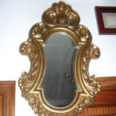 Antigüedades: CORNUCOPIA ESPEJO DORADO 104CM. Lote 19163490