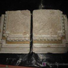 Antigüedades: BASES DE PIEDRA (PARA COLUMNAS ETC). Lote 26716152
