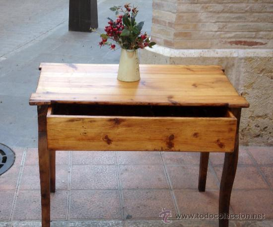 Soberbia mesa escritorio antigua de pino ara comprar - Mesas de escritorio antiguas ...