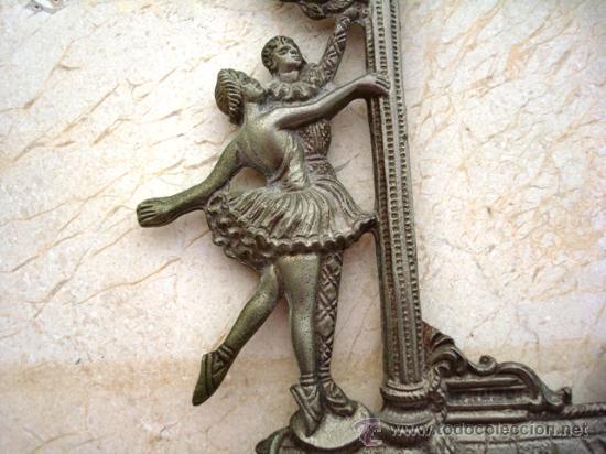 Antigüedades: BONITO MARCO DE METAL PLATEADO ( VER DETALLES ) - Foto 2 - 27316385