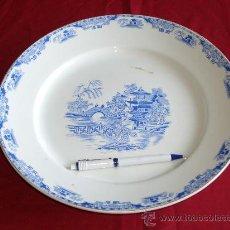 Antigüedades: GRAN PLATO ROYAL CHINA VIGO. Lote 27160220