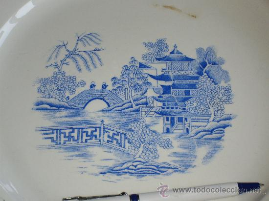 Antigüedades: GRAN PLATO ROYAL CHINA VIGO - Foto 2 - 27160220