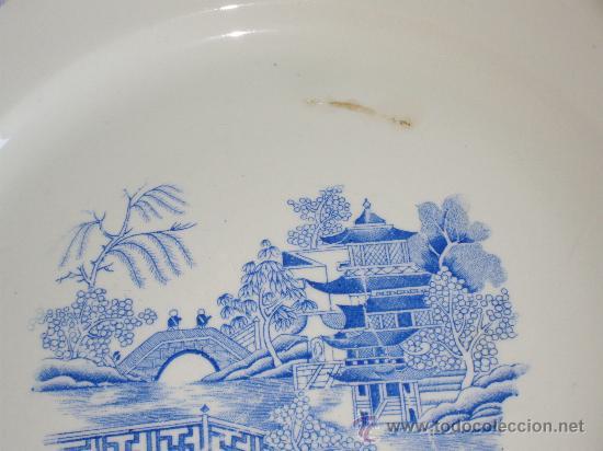 Antigüedades: GRAN PLATO ROYAL CHINA VIGO - Foto 3 - 27160220