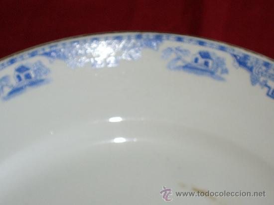 Antigüedades: GRAN PLATO ROYAL CHINA VIGO - Foto 4 - 27160220
