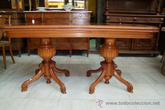 mesa para comedor, inglesa, en raíz ref.4220 - Kaufen Antike Tische ...