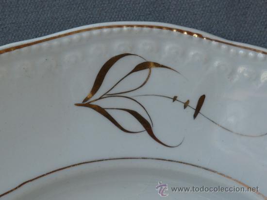Antigüedades: Bonita pareja de platos de San Juan de Aznalfarache (Sevilla) - Foto 5 - 24151951