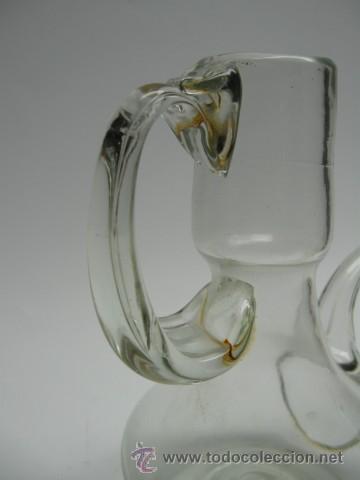 Antigua aceitera de cristal soplado preciosa as comprar objetos cristal y vidrio antiguo en - Aceiteras de cristal ...