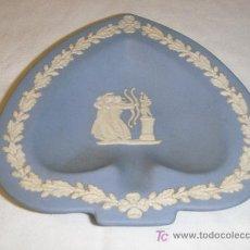 Antigüedades: CENICERO PORCELANA INGLESA DE WEDGWOOD DE LOS 40-50. Lote 26967743