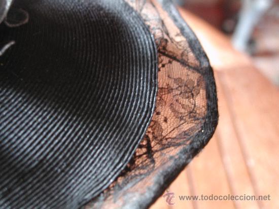 Antigüedades: SOMBRERO AÑOS 30 - Foto 3 - 26161995