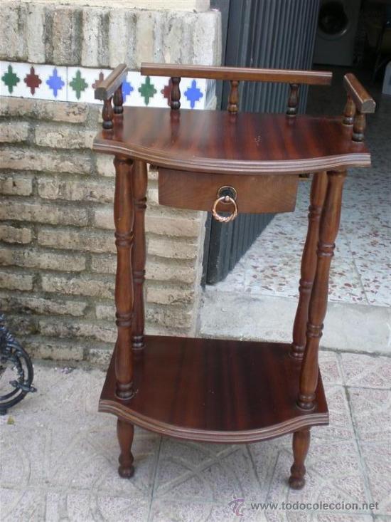 Mesita auxiliar para telefono comprar mesas antiguas en - Mesas auxiliares antiguas ...