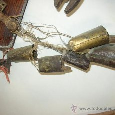 Antigüedades: LOTE VARIADO DE ANTIGUOS CENCERROS. Lote 19623265