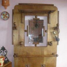 Antigüedades: PERCHERO DE MADERA PRINCIPIOS SIGLO XX. Lote 27639995